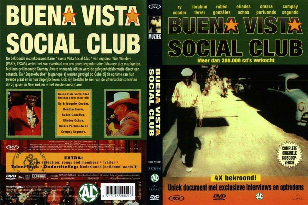Buena Vista Social Club Social Club Book Cover Club