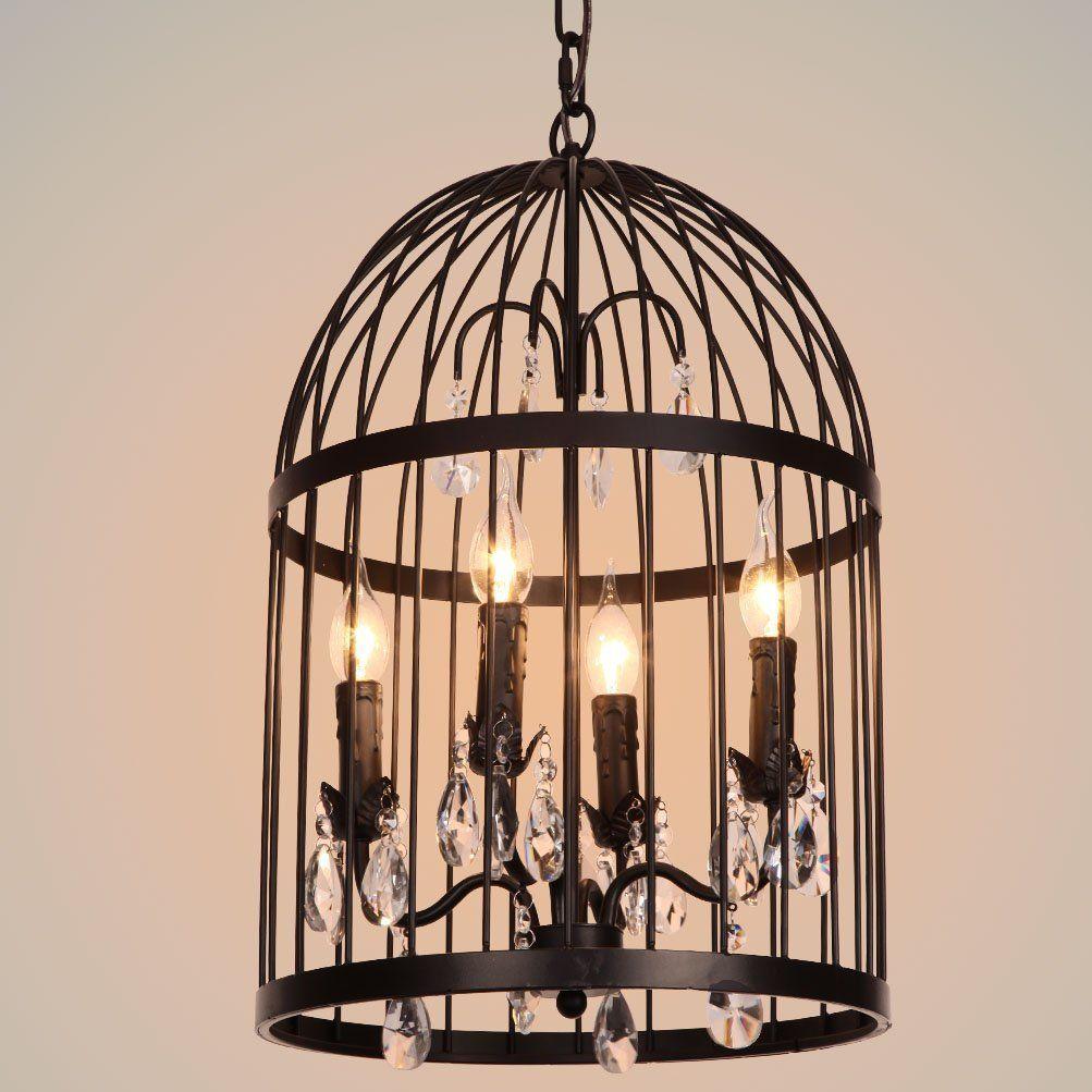 New designed antique bird cage pendant chandelier cylinder fixture new designed antique bird cage pendant chandelier cylinder fixture of ella fashion amazon arubaitofo Image collections