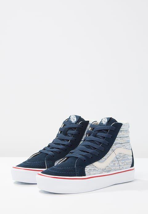 Schoenen Vans SK8 - Sneakers hoog - blue Blauw: € 89,95 Bij Zalando