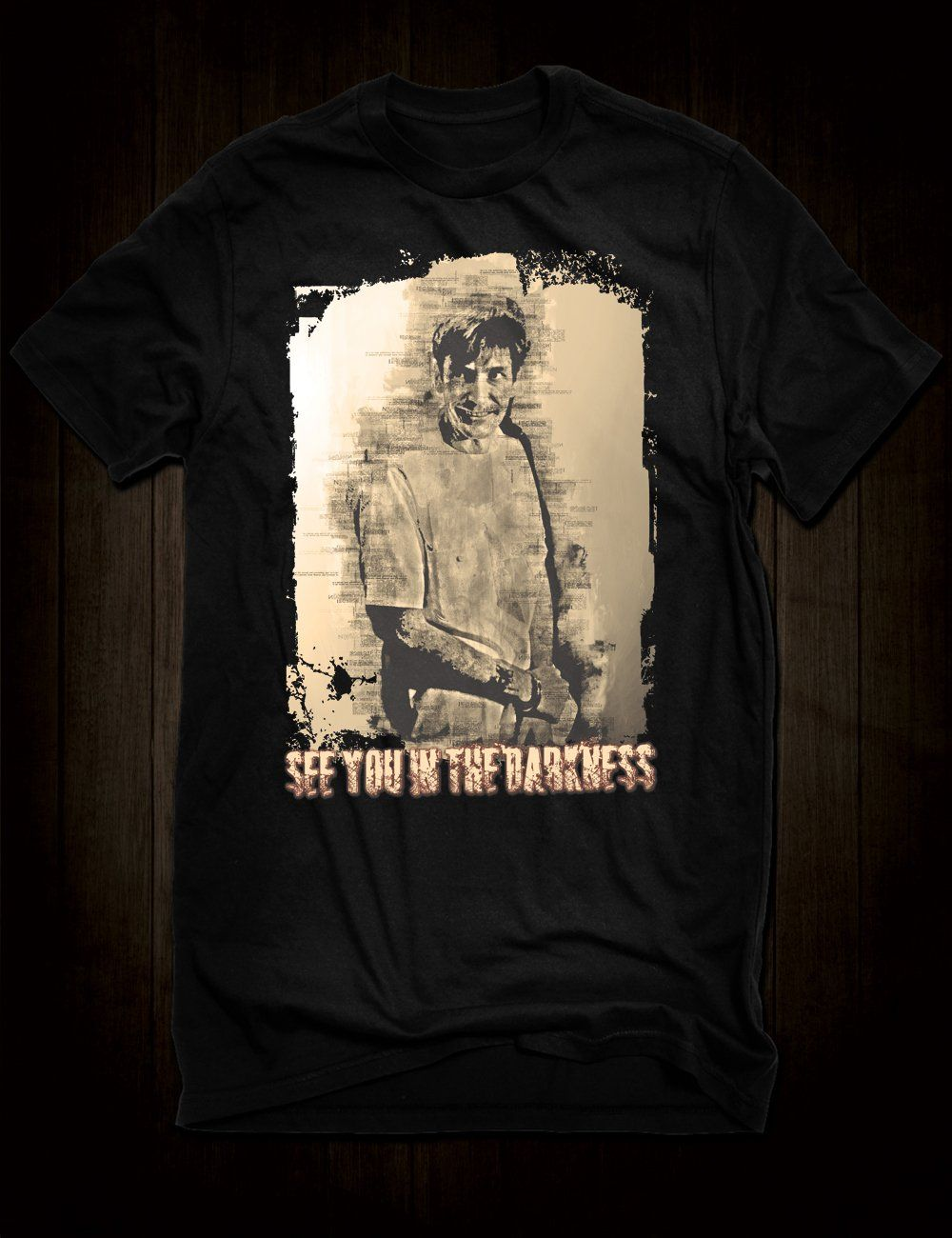 8952b563b Gary Gilmore T-Shirt - Small | Hellwood Tees | T shirt, Shirts, Mens ...