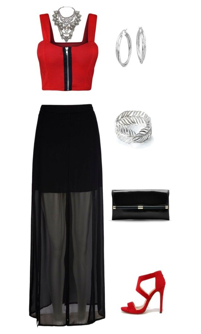 """Untitled #389"" by netteskytte on Polyvore featuring Mela Loves London, Liliana, WearAll, Shlimp and Ulrich, Diane Von Furstenberg, Serena Fox and Blue Nile"