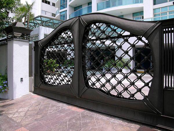 Resultado de imagen para portones de hierro modernos for Portones de hierro para garage