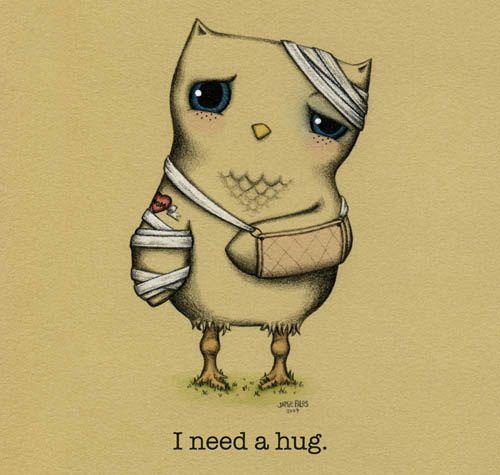"""""""Necesito un abrazo"""""""