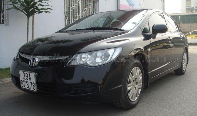 Dịch vụ cho thuê xe du lịch: Cho thuê xe 4 chỗ Honda Civic tại Hà Nội