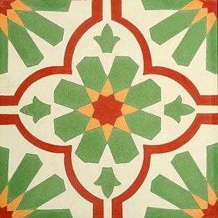 portugese-tegels -> VN Verde 02 - Designtegels