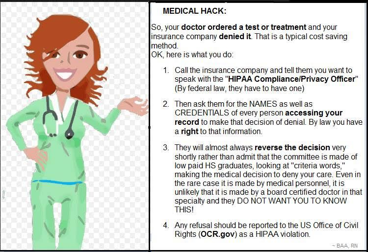 Fact Check Does A Hipaa Medical Hack Avoid Insurance Claim
