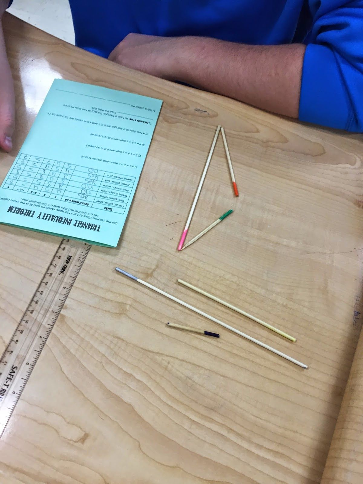 misscalcul8: Triangle Inequality Skewers   Education   Pinterest