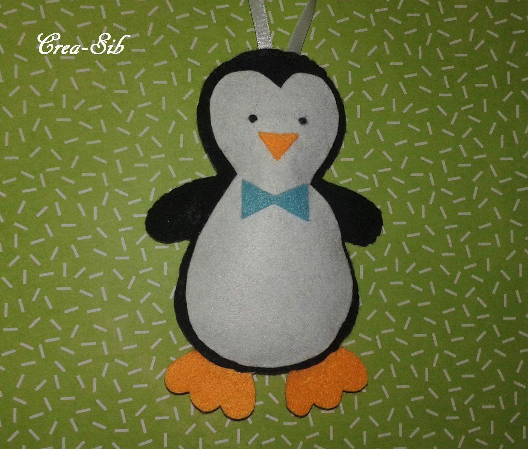 """Suspension """"M. Pingouin"""" : Décoration pour enfants par crea-sib"""