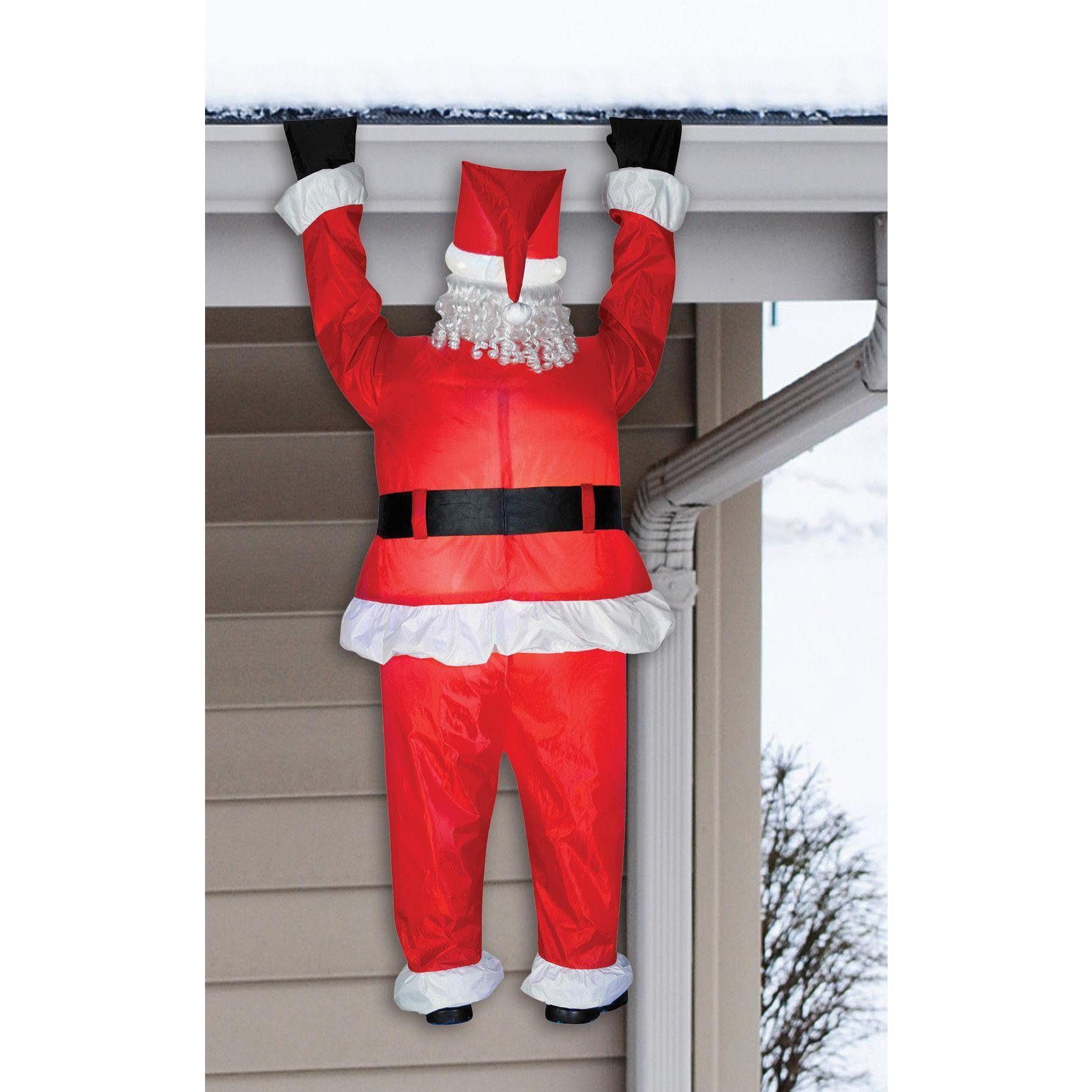 Airblown santa Hanging