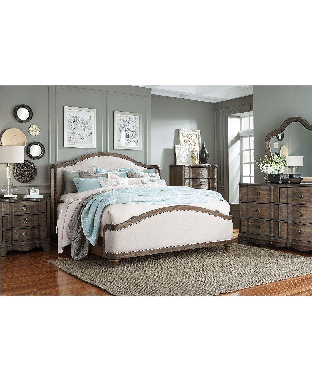 Madden Bedroom Furniture, 3-Pc. Set (Queen Bed, Dresser & Nightstand ...
