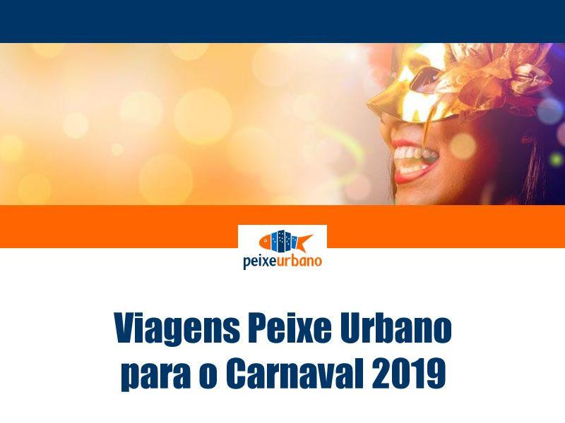827c48ba61 Viagens de Carnaval 2019 em promoção no Peixe Urbano  viagens  carnaval   carnaval2019