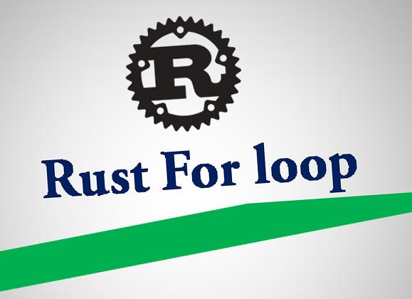 Rust For Loop Javatpoint Company Logo Tech Company Logos Loop