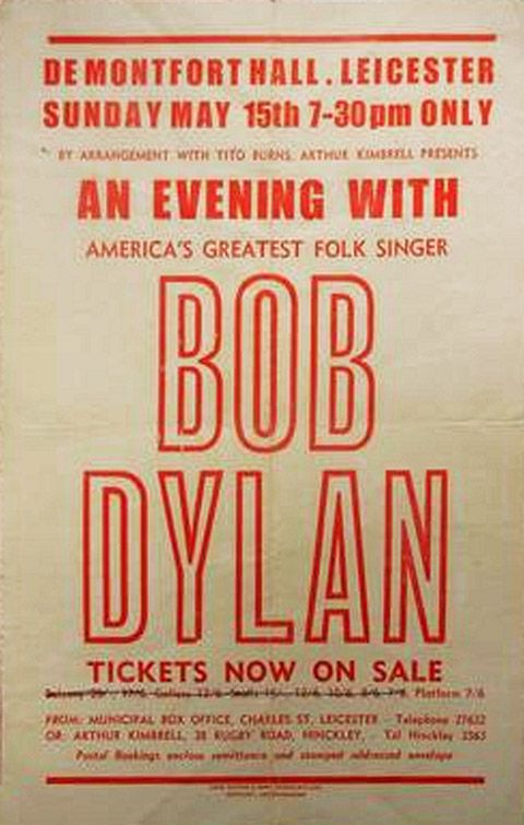 Image result for bob dylan leicester 1966