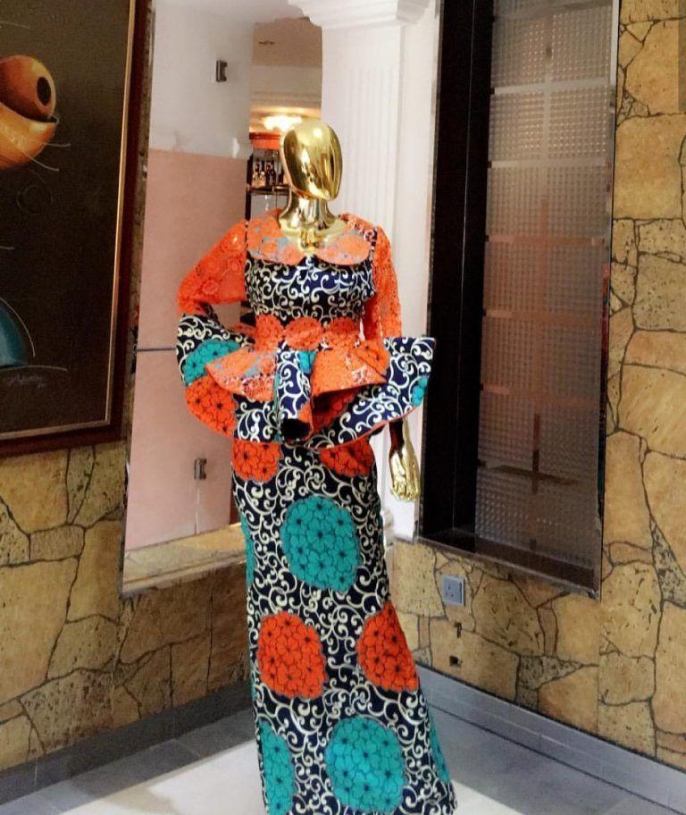 c697f04e99d42b Hot Ankara Skirt & Blouse Styles For Your Next Owamba | De ...