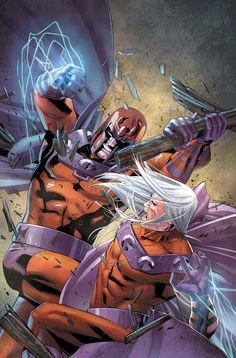 However, Magneto reappeared and made another bid for political power by creating another Earth-wide electromagnetic pulse and then merging with the part of the atmosphere called the magnetosphere to gain ultimate power. The X-Men, Joseph, and Astra confronted Magneto, and Joseph sacrificed himself to stop Magneto's schemes, an action which left Magneto temporarily without his powers.