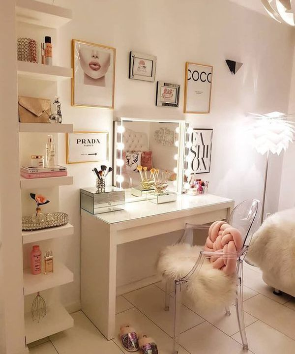 Photo of 40 Feminine Makeup Room Ideas That Women Must Have,  #designdellacameradaletto #Feminine #ide…
