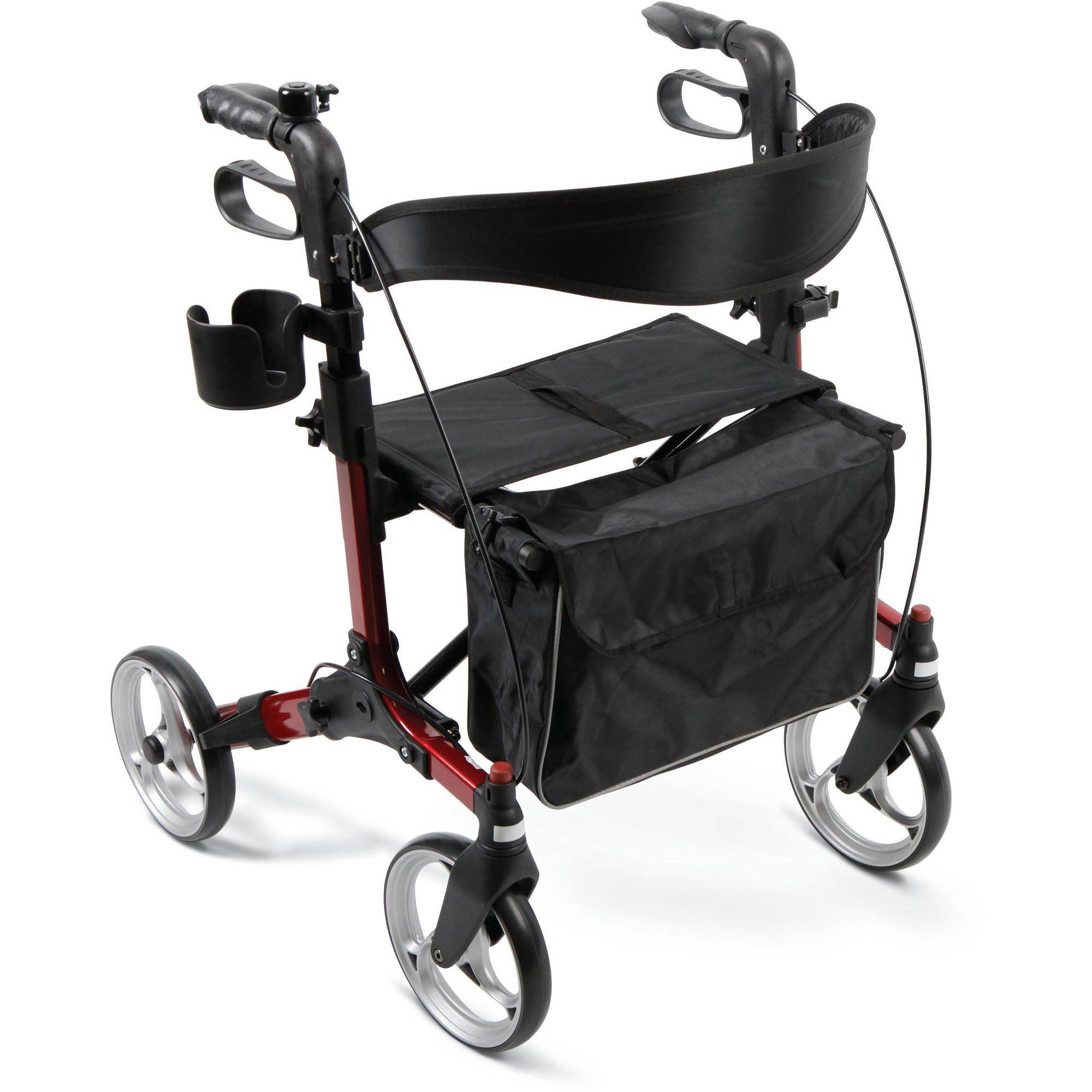 Medline Simplicity Super Compact Euro Style Rollator