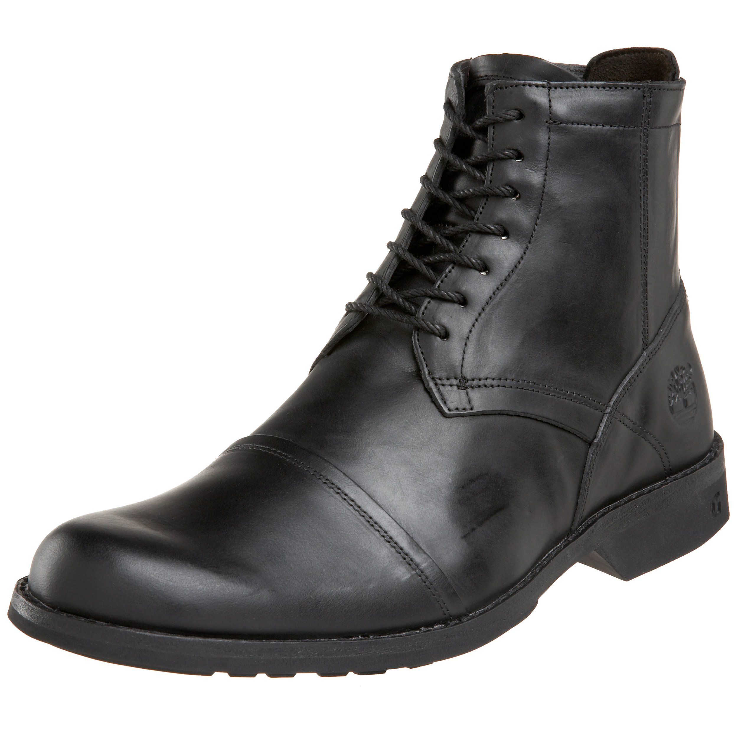 pretty nice 73a11 65209 Timberland Mens City 6Inch SideZip BootBurnished Black7.5 M ...