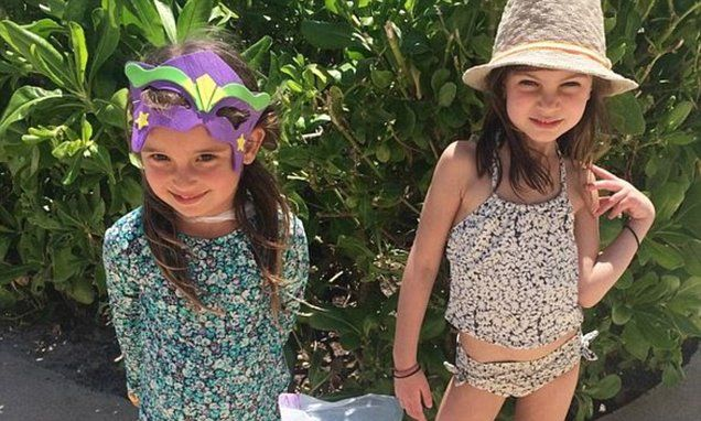 Ivanka Trump praised for daughter's 'age appropriate' swimsuit. Sun safe, responsible style!