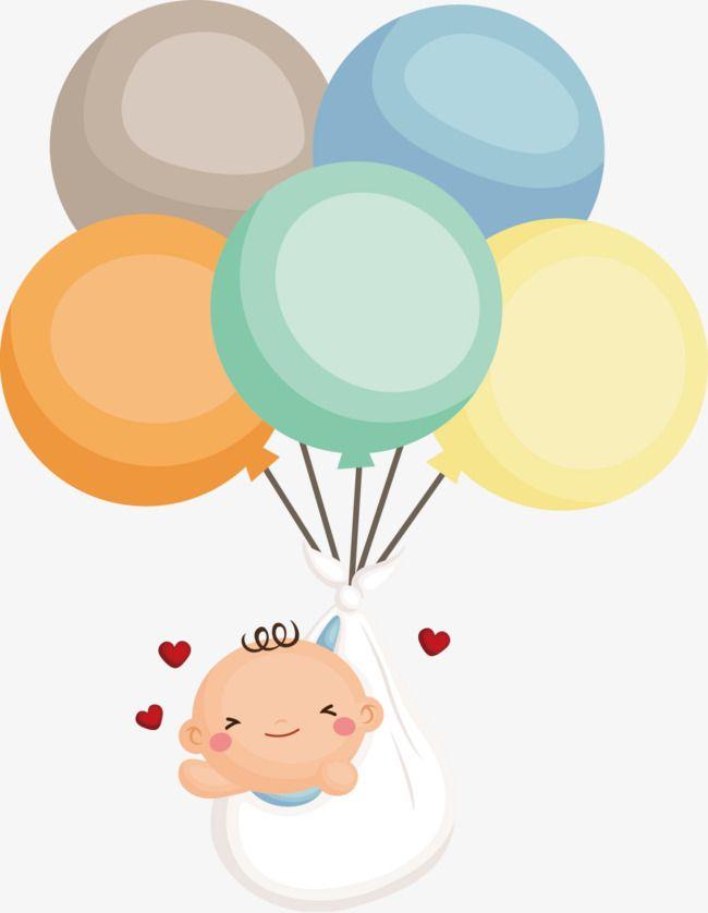 Watercolor hot air balloon png Baby boys. Cartoon airplane