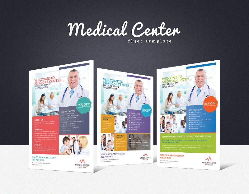 173 best medical flyer images on Pinterest Flyer design - advertising brochure template