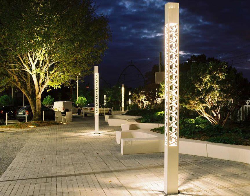 Public Space Lighting Landscape Lighting Design Streetscape Design Park Lighting