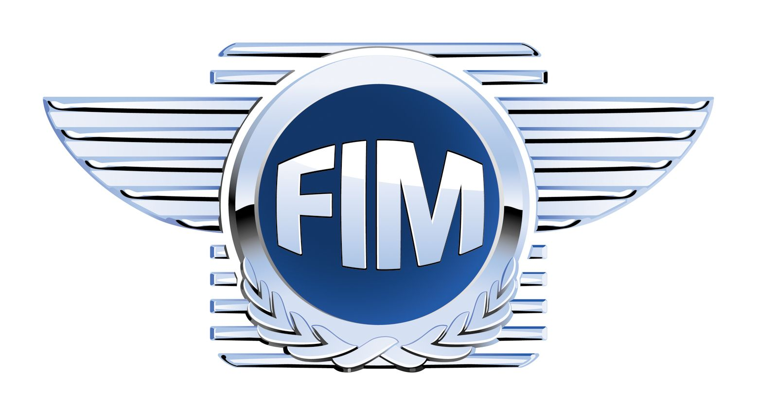 Fédération Internationale de Motocyclisme (FIM) Logo