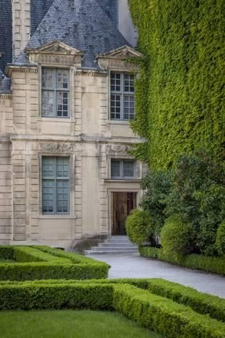 Garden view of Hotel de Sully in the Marais District, Paris, France By Brian Jannsen is part of Home garden View -