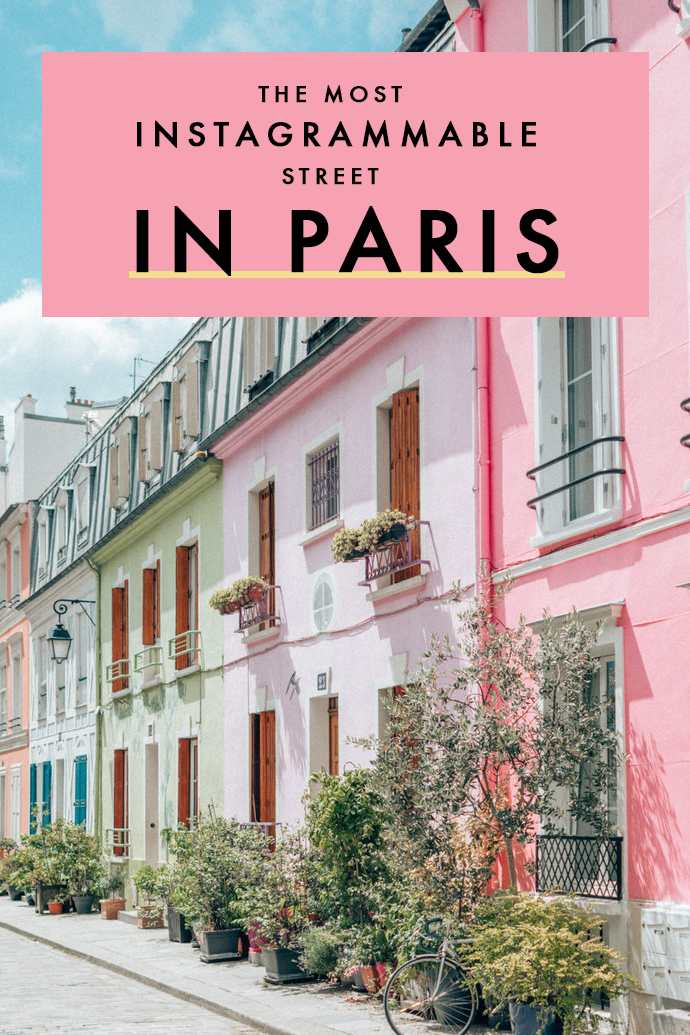Rue Crémieux: The Most Colorful Street in Paris That You Need To Visit!