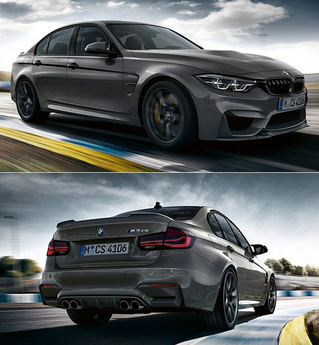 All New BMW M3 CS Revealed Boasts 453HP And Does 0 60 In 3.7