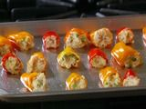 these sweet little peppers look amazing- Adriana would love these in her lunch and they would make great appetizers!