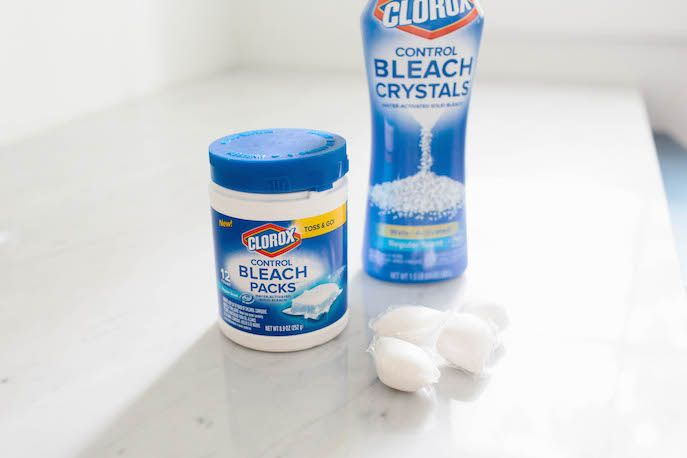 Clorox 5 Bleach Pods Helps To Stop Those Annoying Bleach Spots Small Laundry Room Laundry Room How To Make