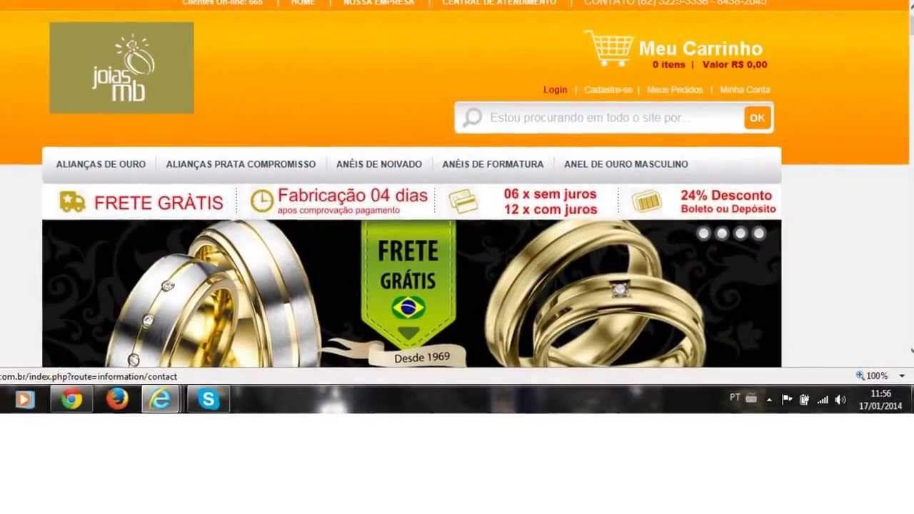 e457cfe7e10 Fabrica de Alianças em Goiânia na 24 de Outubro Campinas Casamento ...