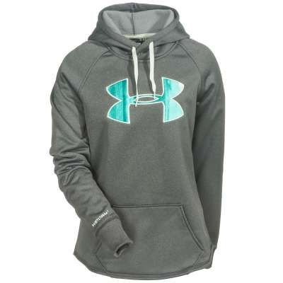 4236b7b4dcb3 Under Armour Sweatshirts  1246825 090 ColdGear Storm UA Rival Women s  Carbon Heather Hoodie