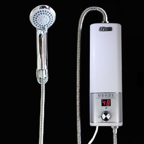 Details About Instant Electric Hot Water Heater Shower Mini White