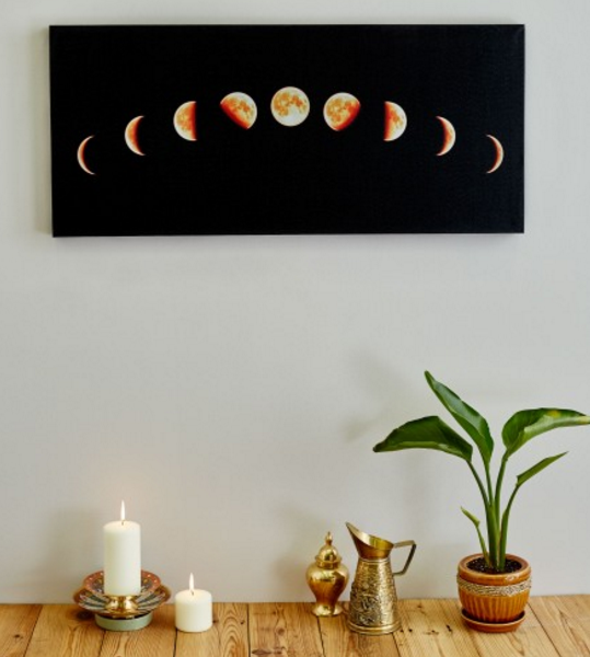 New Moon Canvas Art. This Would Be Gorgeous Over The Bed