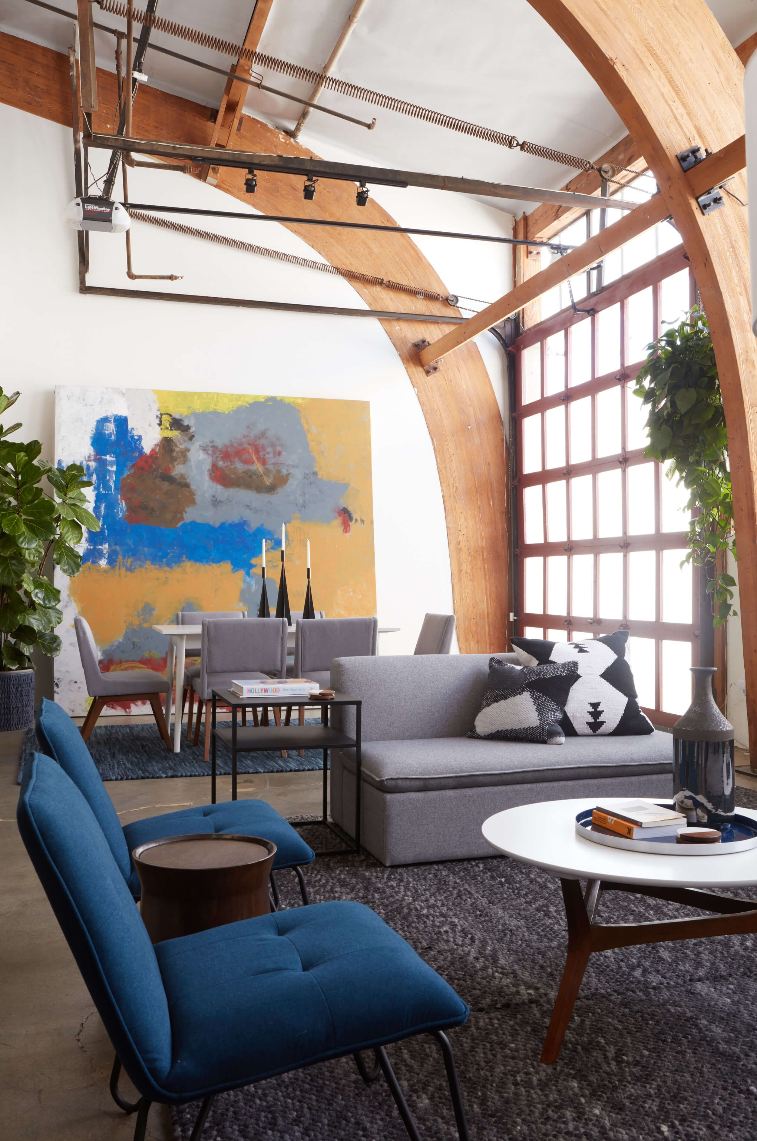 A Modern (yet Warm) Loft With The New Project 62 Collection   Emily  Henderson. Living Room ...