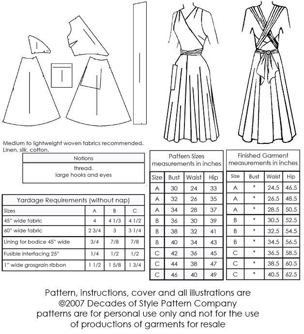 49a5b2dc1af 1940s Siren Sundress for Marilyn Monroe style dress -  4003 – Decades of  Style Pattern Company