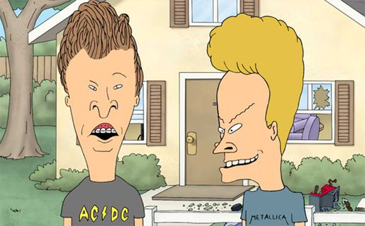 The best Beavis and Butthead episodes.