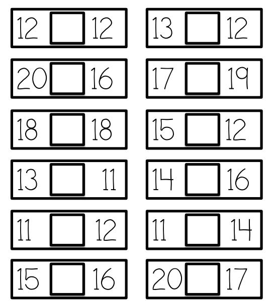 Una Idea Para Trabajar Menor Mayor O Igual Aprendiendo Matemáticas Matematicas Ejercicios Matematicas Primaria Matematicas Primero De Primaria