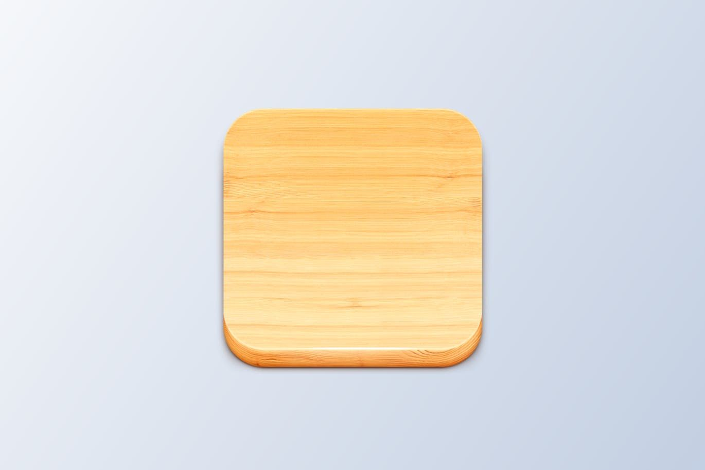 Wood iOS Icon Template PSD | Icons | Pinterest | Ios icon and Icons