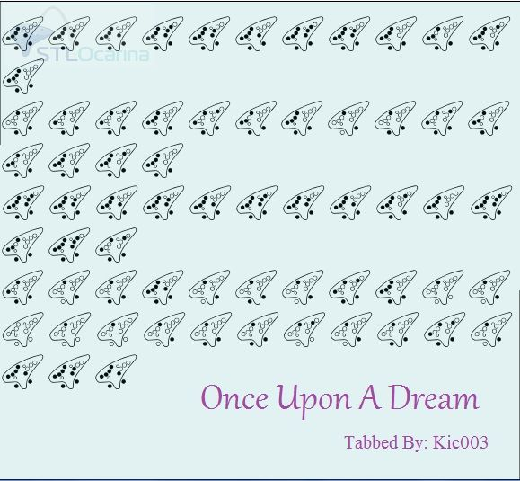A Dream Is A Wish Your Heart Makes Flute Sheet Music Once Upon A Dream Sleeping Beauty Ocarina Tabs Ocarina Music Easy Sheet Music