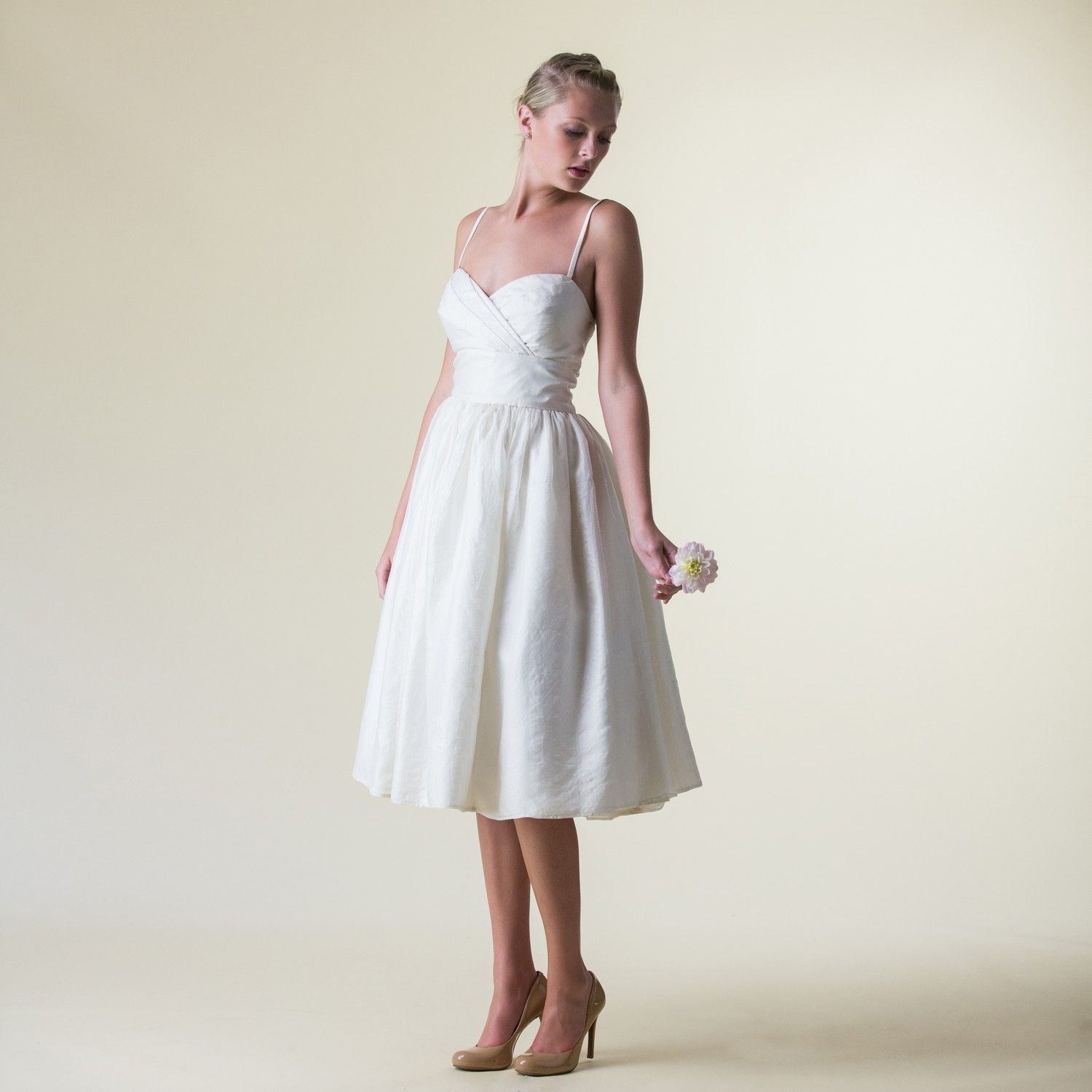 An exquisitely ethical wedding dress in heirloom eco silk. The ...