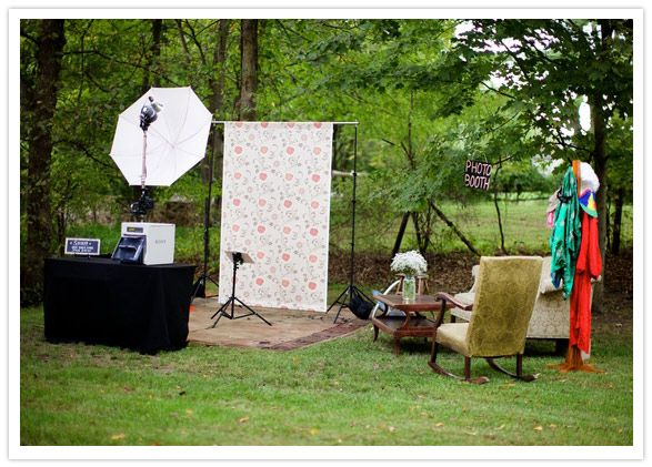 Backdrop Photo Booth Idea For You And Your Guests