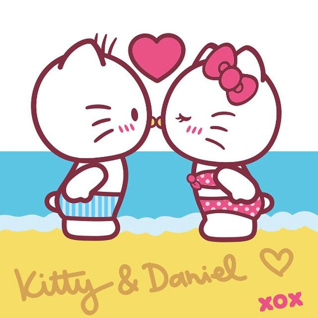 Hello Kitty Dear Daniel Coloring Pages : Cute smile photo hello kitty pinterest