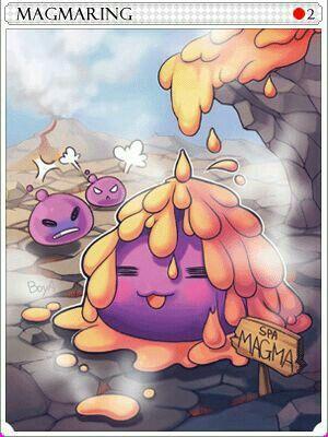Ragnarok Magmaring Card Treta