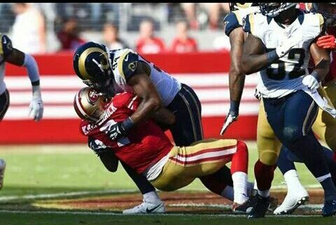 Rams Defense 8 sacks vs 49'ers