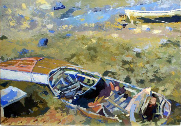 Bajamar, Felipe San Pedro.  See more a Artelista. http://felipesanpedro.artelista.com/