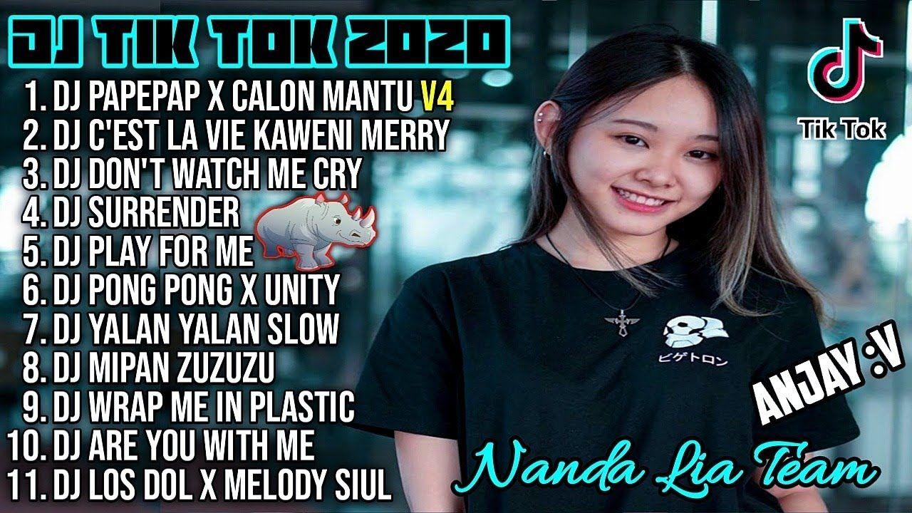 Dj Tik Tok Terbaru 2020 Dj Pipipi Calon Mantu Full Album Remix 2020 Full Bass Viral Enak La Vie Dj C Est La Vie