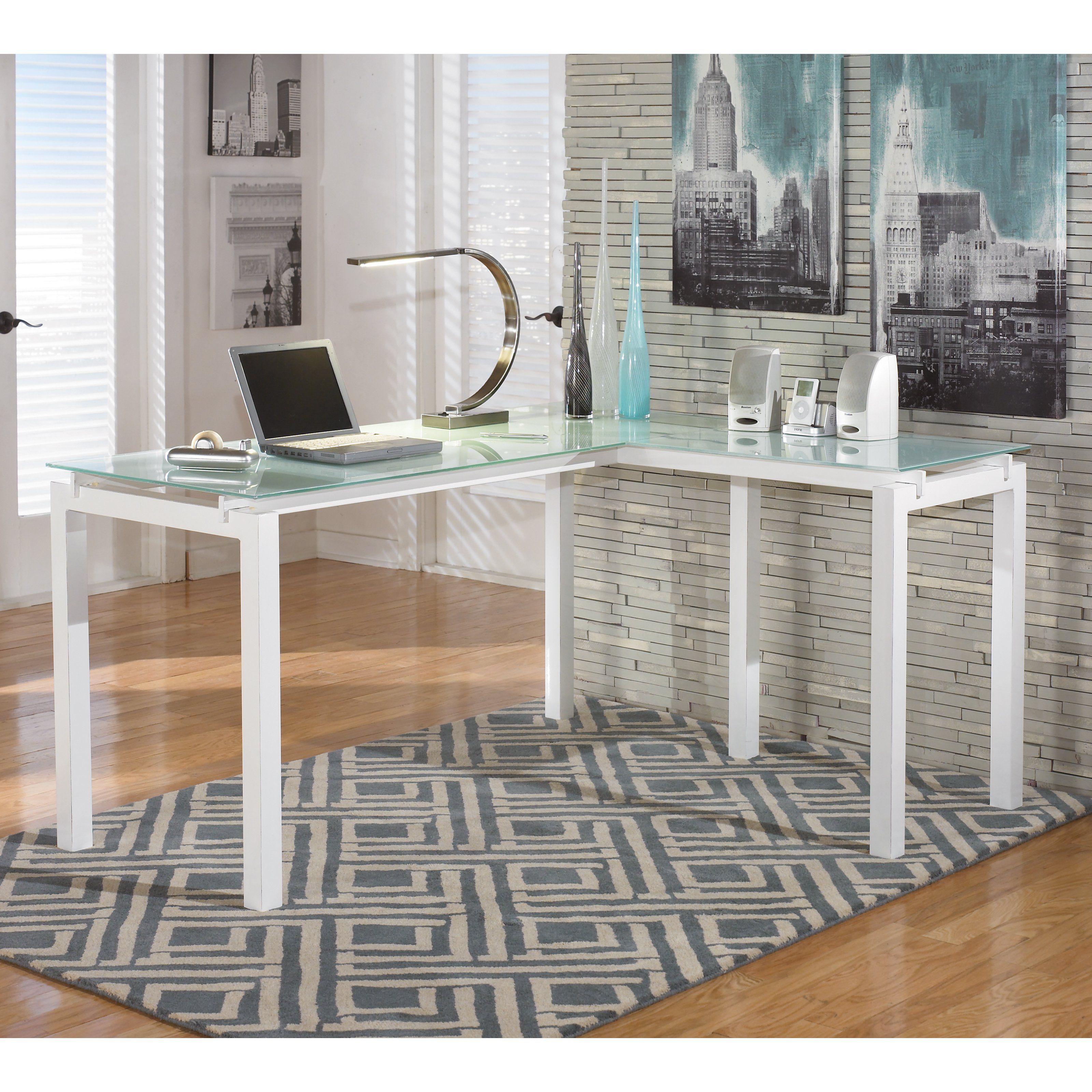Signature design by ashley baraga lshaped desk h products